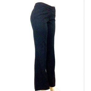 Express X Editor Pants 10L Black White Pinstripe